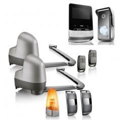 Zestaw do bram skrzydłowych SGA Essential z wideodomofonem