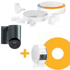Zestaw alarmowy premium z kamerą wewnętrzną i zewnętrzną