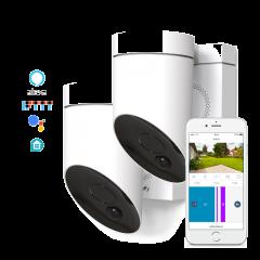 Zestaw kamer zewnętrznych Somfy - biała