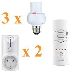 Zestaw do zarządzania oświetleniem domowym